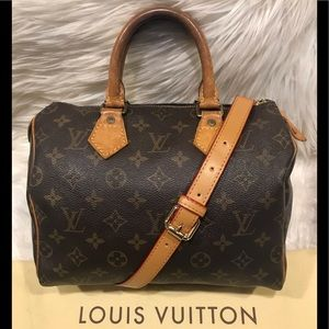 Authentic Louis Vuitton Speedy 25 #6.4K